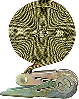 Ремень для крепления багажа , зажим. фиксатор 25мм х 5м - VOREL