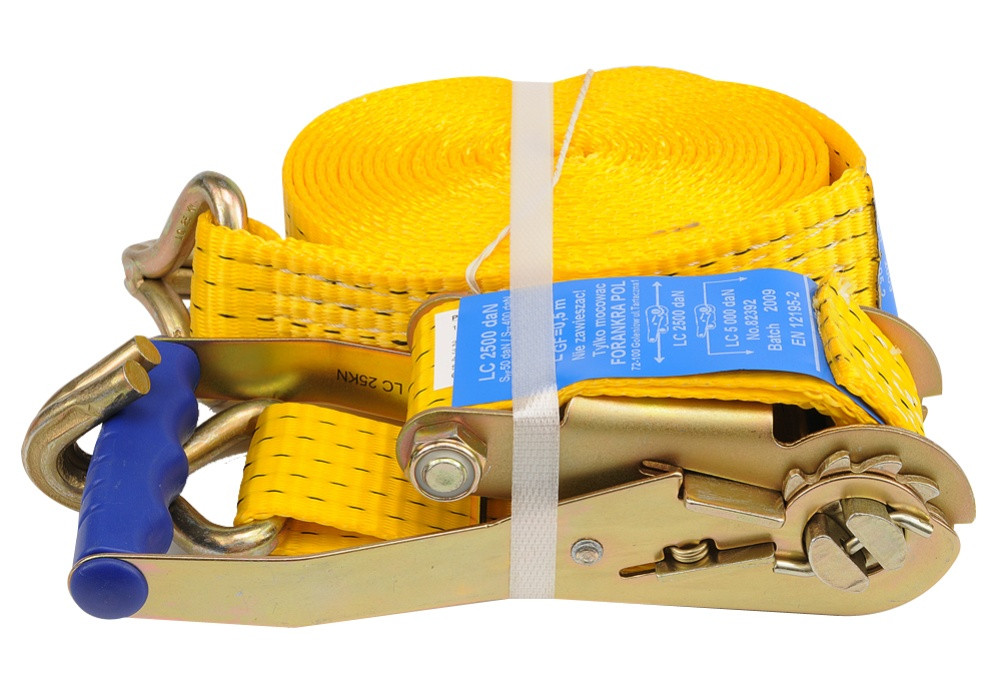 Ремень для крепления багажа с трещоткой 2500 daN, 50мм х 6м - VOREL