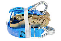 Ремень для крепления багажа с трещоткой 500 daN, 25мм х 5м - VOREL
