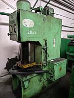 Пресс гидравлический ус. 63т мод. PYE-63, фото 1