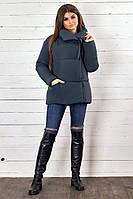 Женская демисезонная куртка плащевка, утеплитель - силикон 200