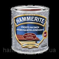 Фарба по цинку Hammerite цегляна 5 л. (Польща)