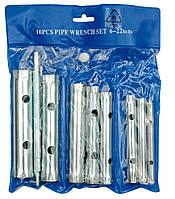 Набор Ключей Трубчатыx 6-22 мм 10шт - VOREL