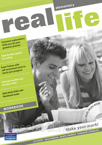 Real Life Elementary Workbook & Multi-ROM (includes Workbook audio) ISBN: 9781408235133, фото 2