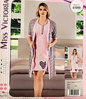 Женская пижама хлопок Miss Victoria Турция размер XL(50) 61090 efc6557ea4de7