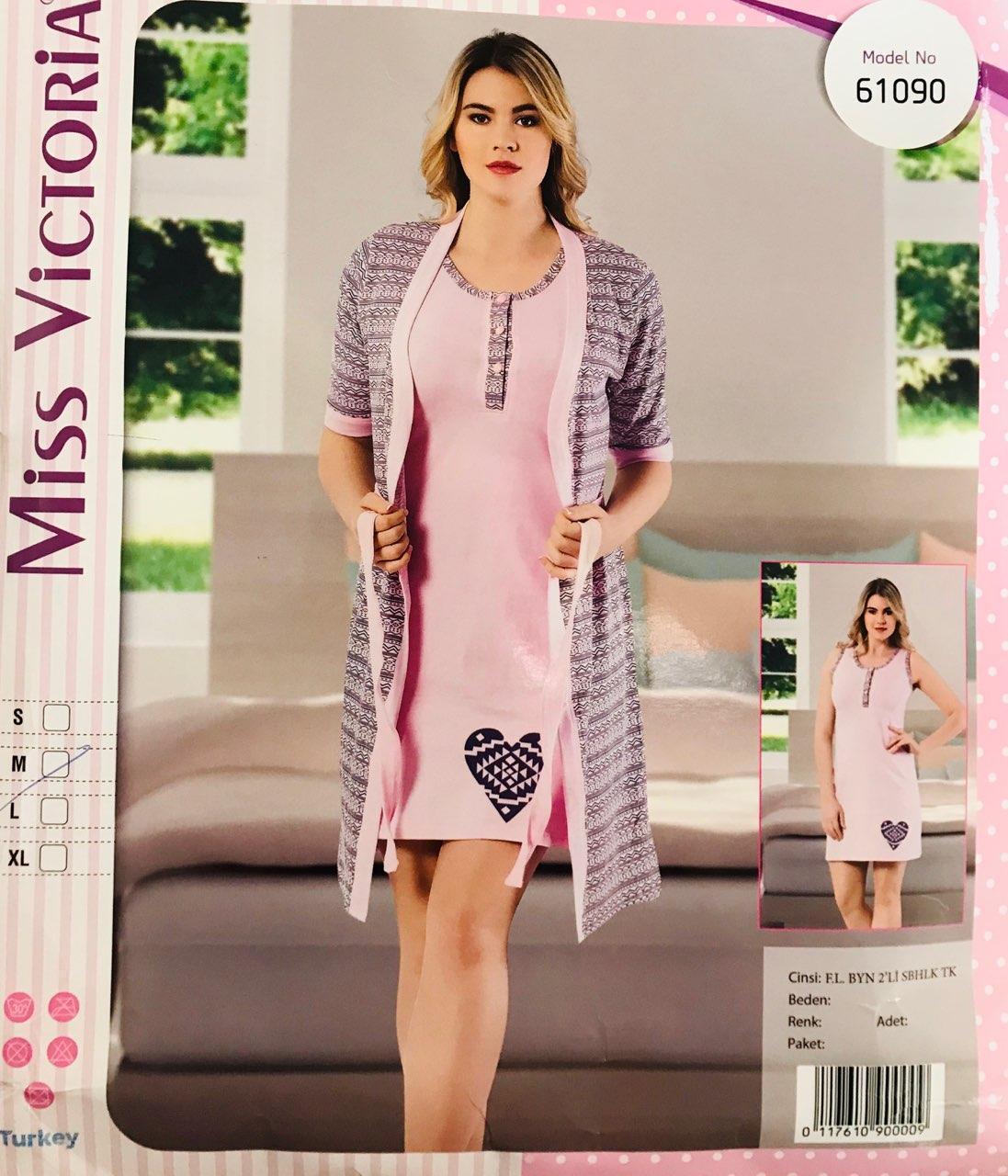 Женская пижама хлопок Miss Victoria Турция размер XL(50) 61090