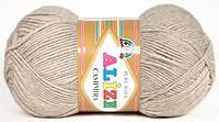 Пряжа Alize CASHMIRA бежевый меланж №152 шерстяная для ручного вязания