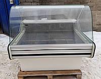 Холодильная витрина гастрономическая «Cold W-12 SG» 1.2 м. (Польша), Широкая выкладка, Б/у , фото 1
