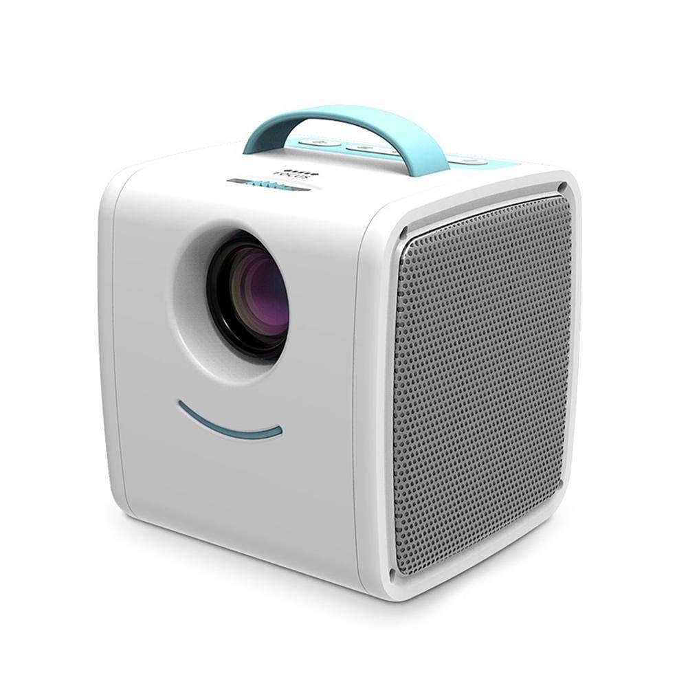 Q2 детский мини проектор - Белый/Голубой