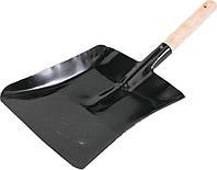 Совок металлический с ручкой 460x220мм - VOREL