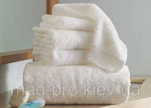 Махровое полотенце Cholzer плотность 450-белое Турция, фото 2