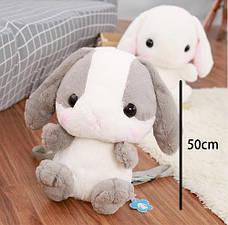 Дизайнерский рюкзак для девушки. Милый портфель в форме японского кролика , фото 3