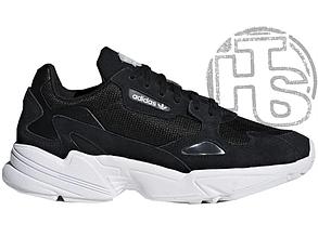 Женские кроссовки Adidas Falcon Black/White B28129