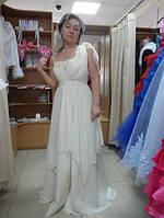 Вечернее платье из шифона  в греческом стиле