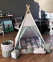 """Детская палатка - вигвам Mini Я """"Облачный замок"""""""