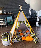"""Детская палатка - вигвам Mini Я """"Солнце навахо"""""""