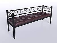 Трехместный диванчик Грин-Трик Tenero 500х1800 мм метал