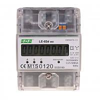 Лічильник електроенергії трифазний LЕ-02d 5(63)А F&F