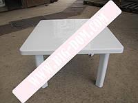 Стол пластмассовый высота 51см пластиковый стол СМ-310 80х80см