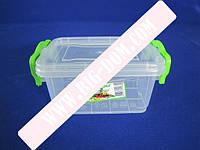 Лоток пластиковый пищевой контейнер Судок отдельный 2660 mini 0,5л