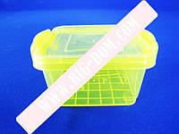 Лоток пластиковый пищевой контейнер Судок отдельный 2704 0,3л
