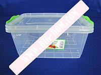 Лоток пластиковый пищевой контейнер Судок отдельный 2675 №2 2,8л
