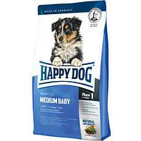 Happy Dog BABY MEDIUM (БЕЙБИ МЕДИУМ) корм для щенков средних пород, 4 кг