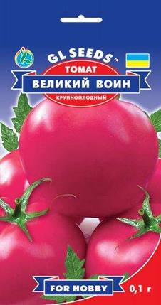 Томат Великий Воин, пакет 0,1г - Семена томатов, фото 2