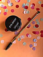 Помада для бровей Anylady + Кисть для бровей tarte Gold Промо набор №0054
