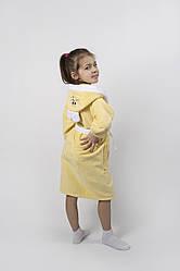 Халат детский Lotus - Зайка новый 11-12 лет желтый