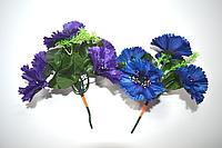 Букет Василек 5голов 20 см синий, фото 1