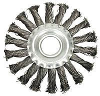 Щетка дисковая, витая D - 115мм - VOREL