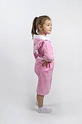 Халат детский Lotus - Зайка новый 3-4 года розовый