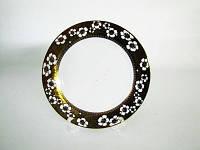 Тарелка Золотой цветок мелкая 23 см керамика