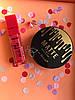 Помада жидкая водостойкая Lip Gloss  + Пудра Kiss Beauty 2in1 Matte №0058
