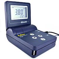 РН-метр EZODO PP-203 (РН: -2.00-16.00; 0-110 °C; -1999 -1999 мВ) з виносним електродом і термодатчиком, фото 1
