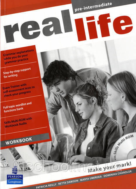 Real Life Pre-intermediate Workbook & Multi-ROM (includes Workbook audio) ISBN: 9781408235157