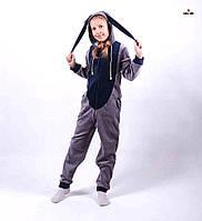 Кигуруми детский комбинезон с ушками для девочки, кигуруми р. 36-40, фото 1