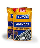 Смазка cолидол жировой Yukoil NLGI 2-3 ✔ кетчуп  0,375 гр.