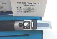 Рефрактометр RBF-022 C ( DOT4 ) для определения точки кипения тормозной жидкости DOT4 и DOT4+ (125-275 С)