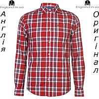 Рубашка мужская SoulCal из Англии - на длинный рукав в клетку a660d393ef8b1