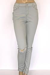 Жіночі рвані джинси