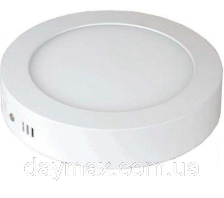 Светодиодный накладной Led светильник 12w 4200k ,круг CAROLINE-12,потолочный ,Horoz Electric