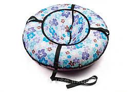 Надувные санки тюбинг Эконом 100 см. Принты