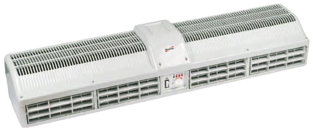 Тепловая завеса NeoClima Standard E 43 (ручное упр., 6 кВт, проем 0,9 м, горизонт)