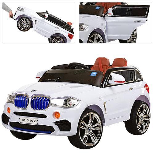Детский электромобиль Джип M 3102 (MP4) EBLR-1