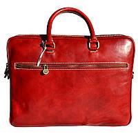 Мужской кожаный портфель 1778_red