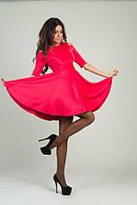 Платье дайвинг с вырезами на плечах, фото 2
