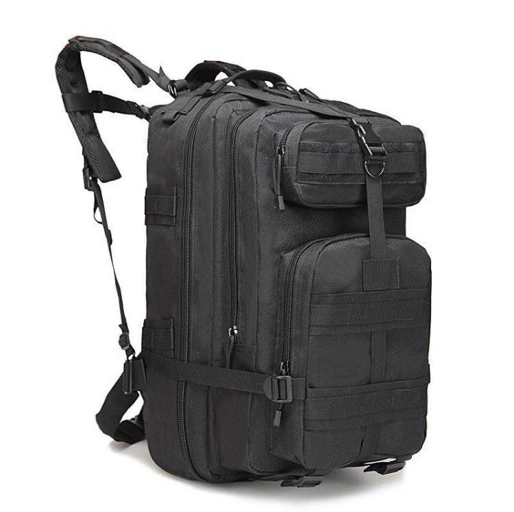 Тактичний, міської, штурмової,військовий рюкзак ForTactic на 45литров Чорний
