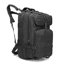 Тактический, городской, штурмовой,военный рюкзак ForTactic на 45литров Черный